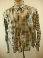 Mens M BARBOUR Tailored fit premium cotton check shirt long sleeve plaid cotton