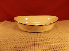 """Lenox China Repertoire Pattern Oval Vegetable Bowl 10"""" First Quality"""