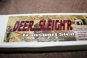 Deer Sleigh'r Transport Sled For Most Deer-Antelope-Mountain Goat