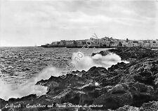 Cartolina Gallipoli Panorama dal mare 1957