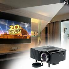 LED Projector HD Multimedia Player Home Theater VGA AV SD HDMI for PC TV DVD