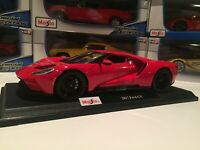 Ford GT - RED W/BLACK WHEELS: Die Cast Maisto Special Edition 1:18 scale