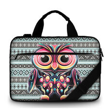 "15-15,6"" LAPTOP BAG WITH HANDLE & SHOULDER STRAP 4 Sony Apple Mac Dell #owl"