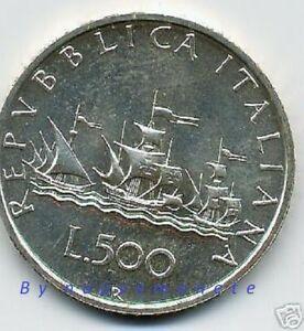 ITALIA MONETA DA 500 LIRE CARAVELLE 2000 FDC ARGENTO