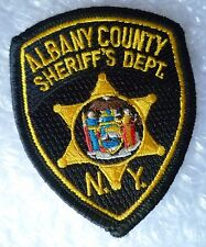 Patch- Albany County Sheriff's Department NY US Police Patch Small (NEW*)