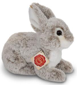 Beige Rabbit plush soft toy bunny by Hermann - 21cm - 93795