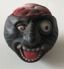 """Monster Ball ~3"""" ~ Brains Exposed ~ Made in Taiwan ~ Face Ball ~ Madball ~ 1980s"""