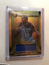2015 Kevin Durant White Gold Jersey Gold Standard