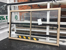 860h x 1450w BRAND NEW Aluminum Sliding window 8 Standard Colours Clear Float