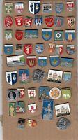 50 pins PIN badge POLSKA POLISH POLAND CITY cities town towns COAT OF ARMS