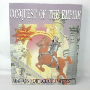 Conquest of the Empire PC Big Box Game Age Empires Add-On 1998 ** Empty Box Only