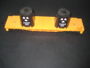 LIONEL TOXIC WASTE CAR #16666- TESTED