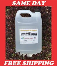 1 GALLON PURE ORGANIC  VEGETABLE GLYCERIN  NON GMO USP FOOD GRADE VG 128 OZ.