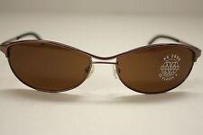 New Vuarnet PX2000 Sunglasses 167 Brown metal 100% UVA NWT