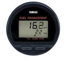 YAMAHA OUTBOARD OEM MULTI-FUNCTION GAUGE FUEL MANAGEMENT 6Y5-8350F-01-00 NEW