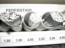 Federstahl Sortiment Rund  7Tlg.   0,50-2,00 mm