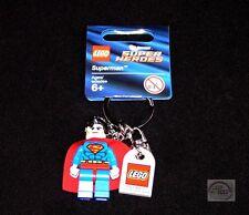 LEGO DC Universe - Classic Superman Minifigure Keychain - 853430 - New