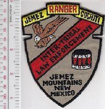 JEMEZ COCHATI NEW MEXICO TRIBAL LAW ENFORCEMENT RANGER SHOULDER PATCH