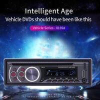 1Din Bluetooth Car Stereo MP3 Player CD VCD DVD AUX USB FM Radio In Dash Audio