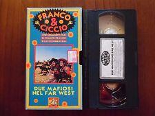 Due mafiosi nel Far West (Franco Franchi, Ciccio Ingrassia) VHS De Agostini