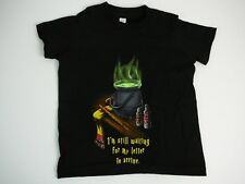 WOOT Bag of Crap Letter Baby Kids Size 4 T Shirt Still Waiting  Letter Rare