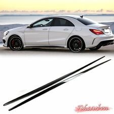 CARBON for BENZ W117 C117 x117 SEDAN 4D CLA250 CLA45 SIDE SKIRT BODYKIT sport