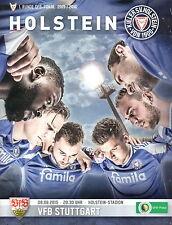 Programm Stadionheft 15/16 KSV Holstein Kiel VfB Stuttgart DFB-Pokal 08.08.15