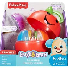 Fisher-Price DRF57 Laugh & Learn Learning Happy Apple Baby Toy