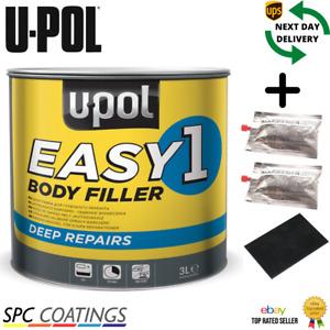 UPOL EASY 1 Filler for Body Easy Filler Sand Big Smooth U-POL (NEW)
