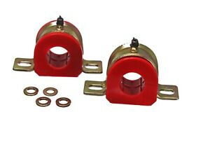 Energy Suspension Sway Bar Bushing Set Red Front Rear for Ford Mercury Lincoln