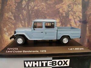 1/43 WhiteBox Toyota Land Cruiser Bandeirante Pick-Up 1976 1 0f 1000