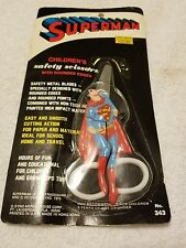 Vintage 1978 Dyno Merchandise Corp. Superman Safety Scissors (New)