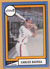 CARLOS BAERGA METROS DE SAN JUAN 1988-89  PUERTO RICO #SJ-3  #131 OF 192