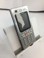 Faulty Sony Ericsson W880i Silver Retro Mobile Phone