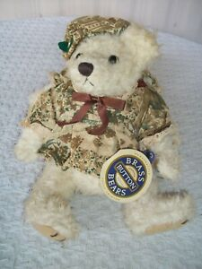 """Brass Button Bears (Pickford) ~ Opal-Bear Of Love ~ 11"""" Tall ~ with Tag"""