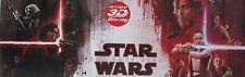 FILM POSTER STAR WARS - THE LAST JEDI - 35 X 100 CM
