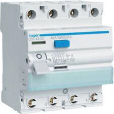 Hager CDS440D Fi-Schutzschalter 4P 40A30mA A QC