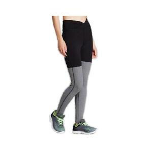 C9 by Champion Women Freedom Stirrup Leggings Yoga Pants Black/Gray L