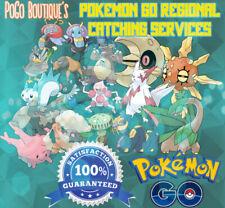 Pokemon Go Regional Pokemon Catching Service