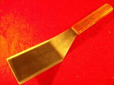 NEW Heavy Duty Stainless Steel Burger Turner/Grill Spatula with Hardwood Handle
