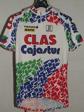 MAILLOT DE VÉLO HAUT MAILLOT CYCLISME équipe CLAS CAJASTUR BIEMME taille 3XL