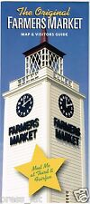 The Grove & Farmers Market Map & Visitor's Guide CBS Television City Fairfax