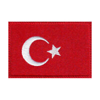 Turkey Flag Embroidered Patch