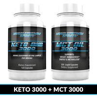 Keto Diet Pills BHB 3000 + MCT OIL 3000, diet pills, Weight loss pills, Keto bhb