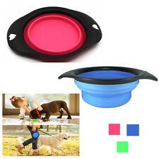 Ciotola Pieghevole Da Viaggio In Silicone Portatile Per Cani Gatti Animali 635