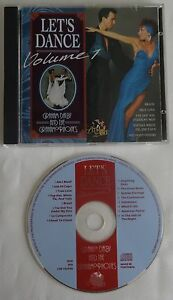 LET'S DANCE VOLUME 1 cd GRAHAM DALBY AND THE GRAHAMOPHONES 16 tr 1995 Salsa