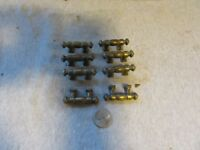 "Lot of (8) VTG Drawer Pulls 3/4"" Center to Center Furniture Hardware 1 3/4 long"