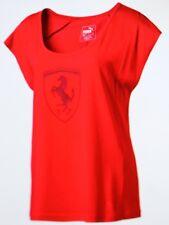 F9. Puma Damen Shirt Ferrari Größe 38 Rot   Neu
