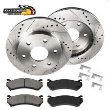 FRT Brake Rotors /& Ceramic Pads Fits 10-15 GX460 10-16 4 Runner 31554 CD976