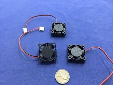 3 Pieces BXR 25mm x 25 x 10 Brushless Cooling Fan small micro Flow CFM 12V c11
